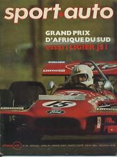 SPORT AUTO n°99 AVRIL 1970 GP AFS LIGIER JS1 DAYTONA 500 CITROEN SM  AVEC ENCART