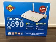 AVM FRITZ!Box 6890 V2 LTE INTERNATIONAL (AVM 2000 2818) 4G WLAN-Router NEU / NEW