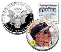 CAL RIPKEN JR 2001 American Silver Eagle Dollar 1 oz US Colorized Coin FAREWELL