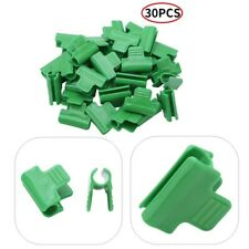 30Pcs Greenhouse Clamps_Cold Frame Pipe Shading Net Rod and Film Clip Connector