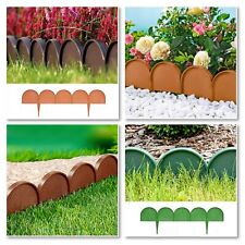 PALISADE FENCE__IKRA__Edge BORDER, Lawn Garden Edging Fencing Frost - L: 10m