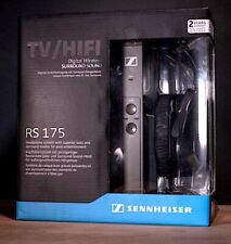 SENNHEISER RS175 Digital Wireless Surround Sound Headphones BRAND NEW w/WARRANTY