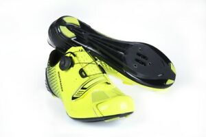 Bontrager Specter Road Shoe BOA Visibility Yellow Size 41 42 46 New TT Men