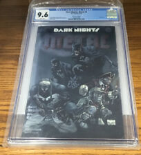 DC COMICS DARK KNIGHTS METAL #6 CONVENTION FOIL EXCLUSIVE CGC GRADED 9.6