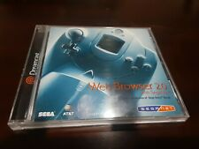 Web Browser 2.0 Dreamcast   Disk, case and manual.