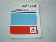 FORD New Holland skid steer loader training service manual