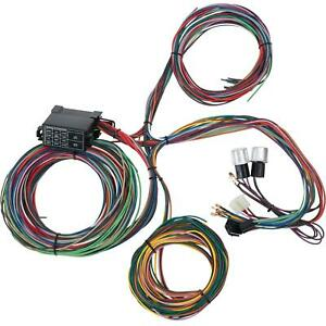 Speedway 12 Circuit Universal Street Rod Wiring Harness w/ Detailed Instructions
