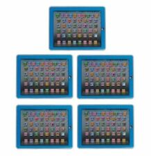 YPAD Multimedia Learning Computer Toy Tool for Kids Machine (Blue) Set of 5