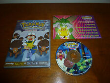 RARE Pokemon - The Johto Journeys - Buggy Boogie (Vol. 48) VG DVD Gold & Silver