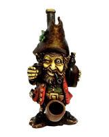 Irish Whiskey Drunk Leprechaun Handmade Tobacco Smoking Medium Pipe St Patricks