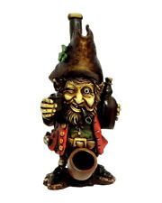 Irish Whiskey Drunk Leprechaun Handmade Tobacco Smoking Medium Hand Pipe
