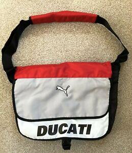 Ducati Motorcycle Puma Shoulder Messenger Bag