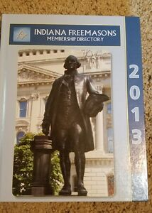 Indiana Freemasons Book  Membership Directory 2013 With CD