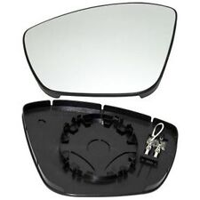 PEUGEOT 308 LEFT MIRROR WING GLASS CHROME CONVEX HEATED ds