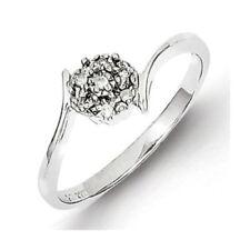 Anillos de joyería con diamantes naturales diamante flor