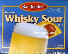 Bar-Tender's Instant Whisky Sour Mix, 4.7 oz Box (8 Pouches per Box) 134 grams
