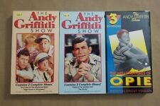 Lot of 3 VHS Tapes - The Andy Griffith Show