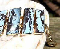 Sky Blue Lapis Gemstone 2 Inch Drop Pendant by Seastar Zero Karat Gold Beautiful Aztec Lapis Gemstone Pendant Alchemia