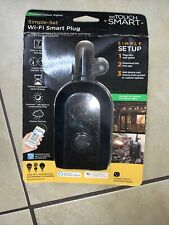 My Touch Smart WiFi Smart Switch, Outdoor / Indoor Digital Plug Brand New 39845