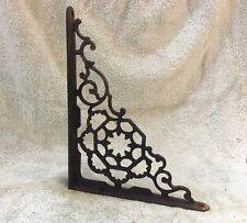 9 Inch Antique Wrought Iron Shelf Bracket