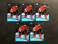2019-20 UPPER DECK ICE SCOTT SABOURIN LOT OF 5 ROOKIE PREMIERES #ed /1299