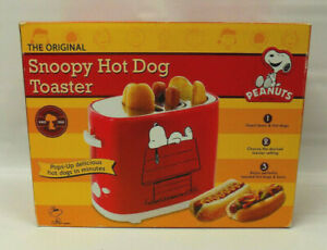 """Smart Planet The Original """"Snoopy Hot Dog Toaster"""" Peanuts Collectible OPEN BOX"""