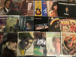 Lot of Country (6) Records lp Vinyl Music Mix Rock Pop Southern Various Folk NM