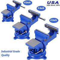 """4""""/5""""/6""""Universal Locking Base Craftsman Gunsmiths Bench Table Vise Vice Tool US"""