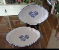 Yorktowne Oval Bake/Relish Dishes - Set of 2