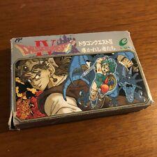 Dragon Quest IV - Famicom Nintendo NES Boxed Cartridge Japanese Import Japan