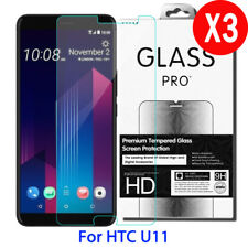 3X 9H 0.33MM Real Premium Tempered Glass Screen Protector Film For HTC U11