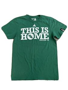 adidas University of North Texas UNT Green Men's T-Shirt Small EUC