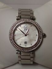 JIVAGO® Womens watch Stainless Steel Shell face *Needs Pin Repair, please read!*