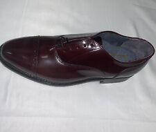 Vintage Stuart McGuire Shell Cordovan Burgundy Dress Shoes Size 8.5 90s NEW NIB