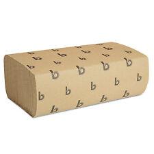 Boardwalk Multifold Paper Towels Natural 9 x 9 9/20 250/Pack 16 Packs/Carton