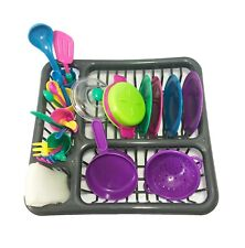 Toys Pretend Play Dishes Playset - Little Chef Set, Kids Serving Dishes - Play C