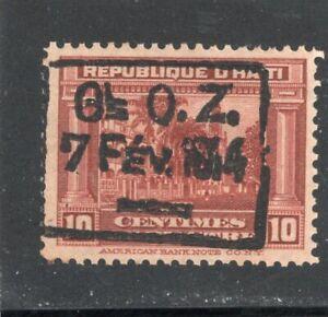 Haiti Scott # 188  - MH -  F-VF - Type 2 ovpt.