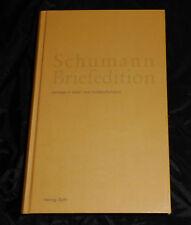 Schumann Briefedition - Band 5 Briefwechsel Robert und Clara Schumanns mit .....