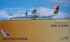 Hogan Wings 1:200 Bombardier Dash 8 q 400 sa Express li5651 + Herpa Wings catálogo