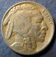 Vintage 1935 INDIAN HEAD/BUFFALO NICKEL, Fine Details, Philadelphia Mint Coin #5
