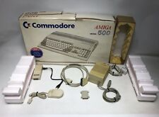 Boxed Commodore Amiga A500  Computer Accessories Bundle - All Working!!!
