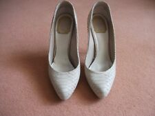 Christian dior shoes size 4.5, snake skin leather, nude colour, sorry no box.