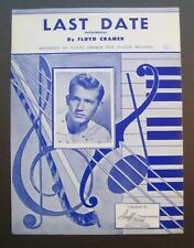 Last Date by Floyd Cramer sheet music