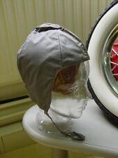 Cabrio Flieger Piloten Haube Kappe aus Stoff Vintage Kult Auto Motorrad Moped