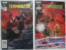 Terminator Special Collectors Ed. Comic set 1-2 Lot Now