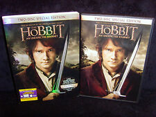 The Hobbit: An Unexpected Journey (DVD/UV, 2013, 2-Disc Set) Mint Discs