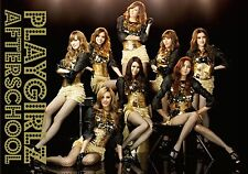After School PLAYGIRLZ CD+DVD+playing cards+ trading card JAPAN Limited Edition