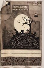 Halloween Come In A Spell Apron Panel by Wilmington Prints btp