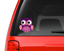"""Cute Little Owl #6 Full Color - 5"""" Vinyl Decal for Car, Macbook, or Other Laptop"""