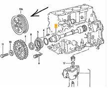 VW ANTRIEBSRAD / UMLENKROLLE  ZWISCHENWELLE UMLENKROLLE ZAHNRIEMEN VW BUS T3 CS